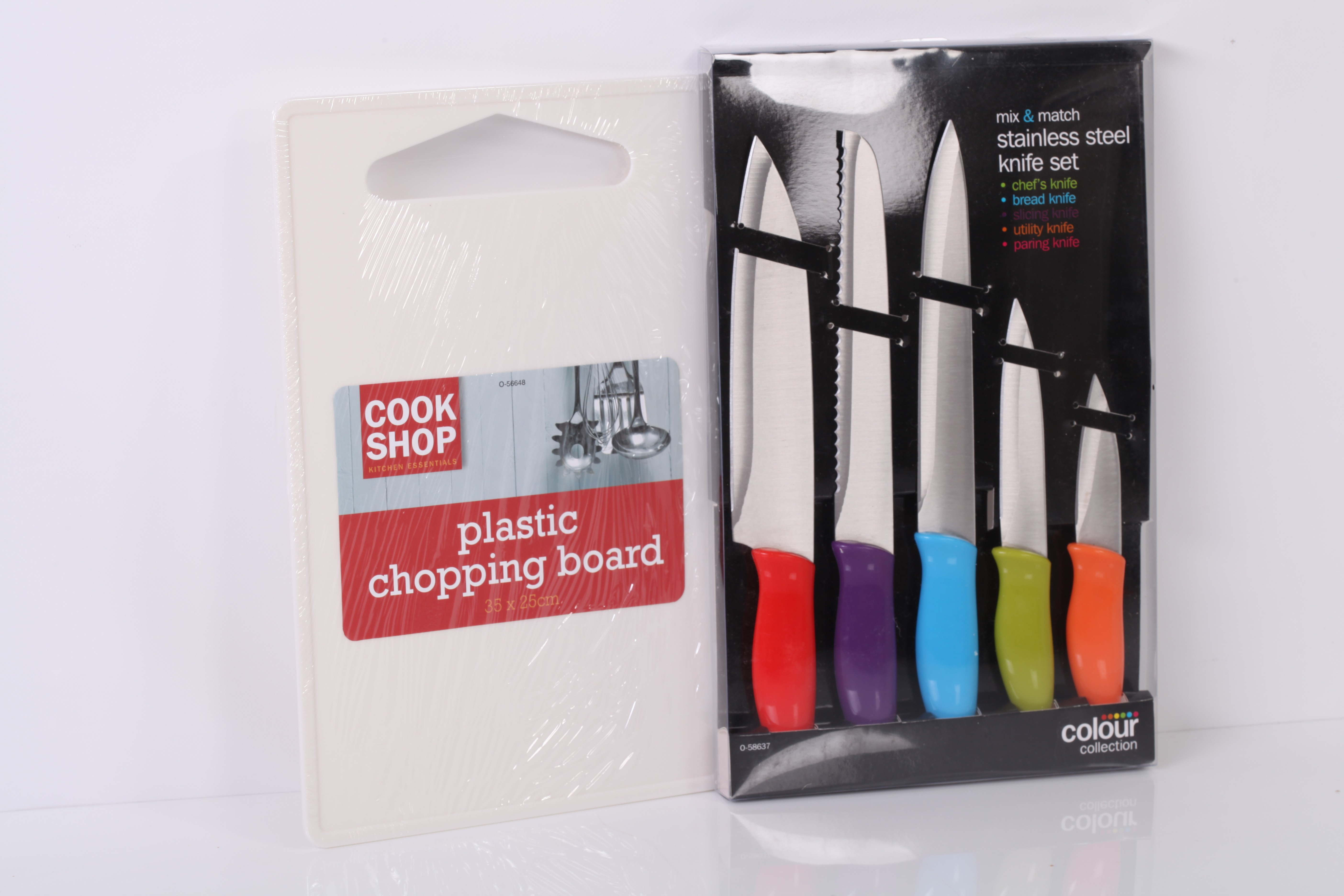 Chopping Board and knife Set